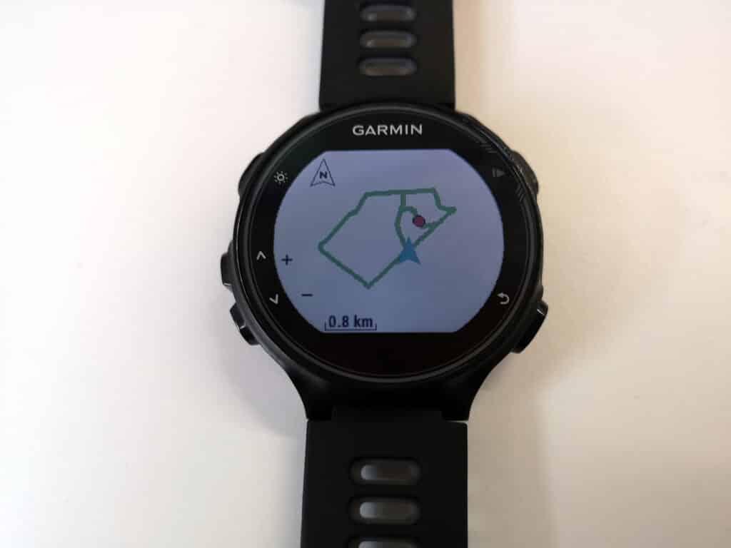 Garmin Forerunner 735XT - Navigation