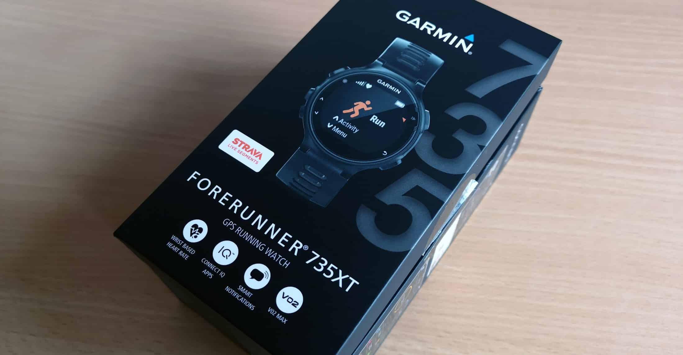 Garmin Forerunner 735XT - Header