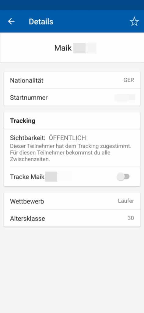 Berlin Marathon Läufer Tracking