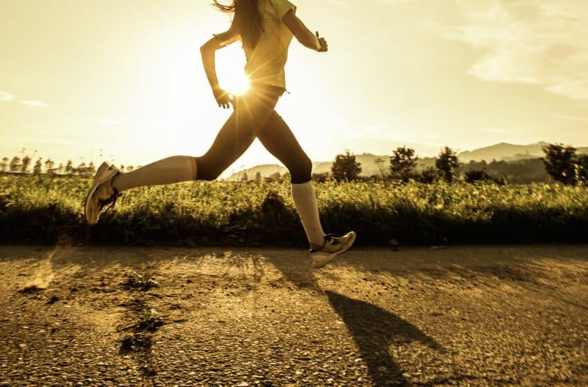 Laufen während der Corona Pandemie und einer Ausgangssperre